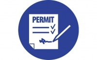 Work with a valid work permit when required